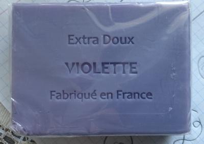 Savon Extra Doux Violette - Produit