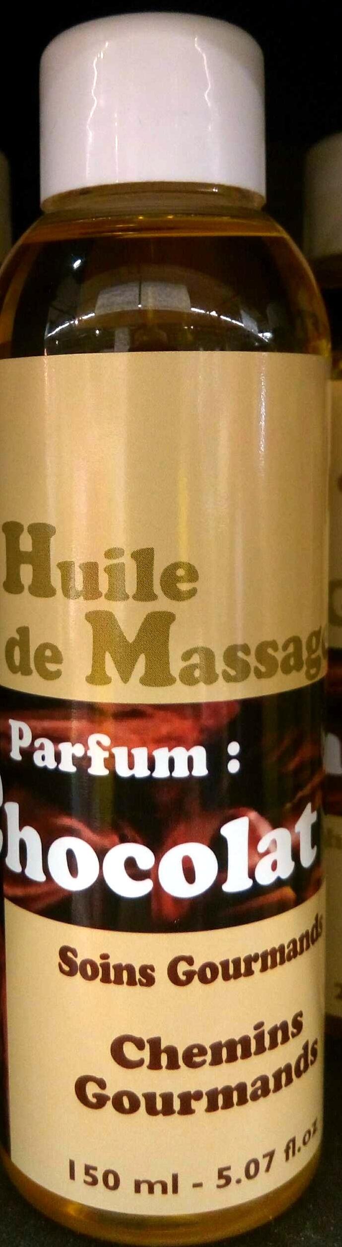 Huile de massage parfum Chocolat - Product - fr