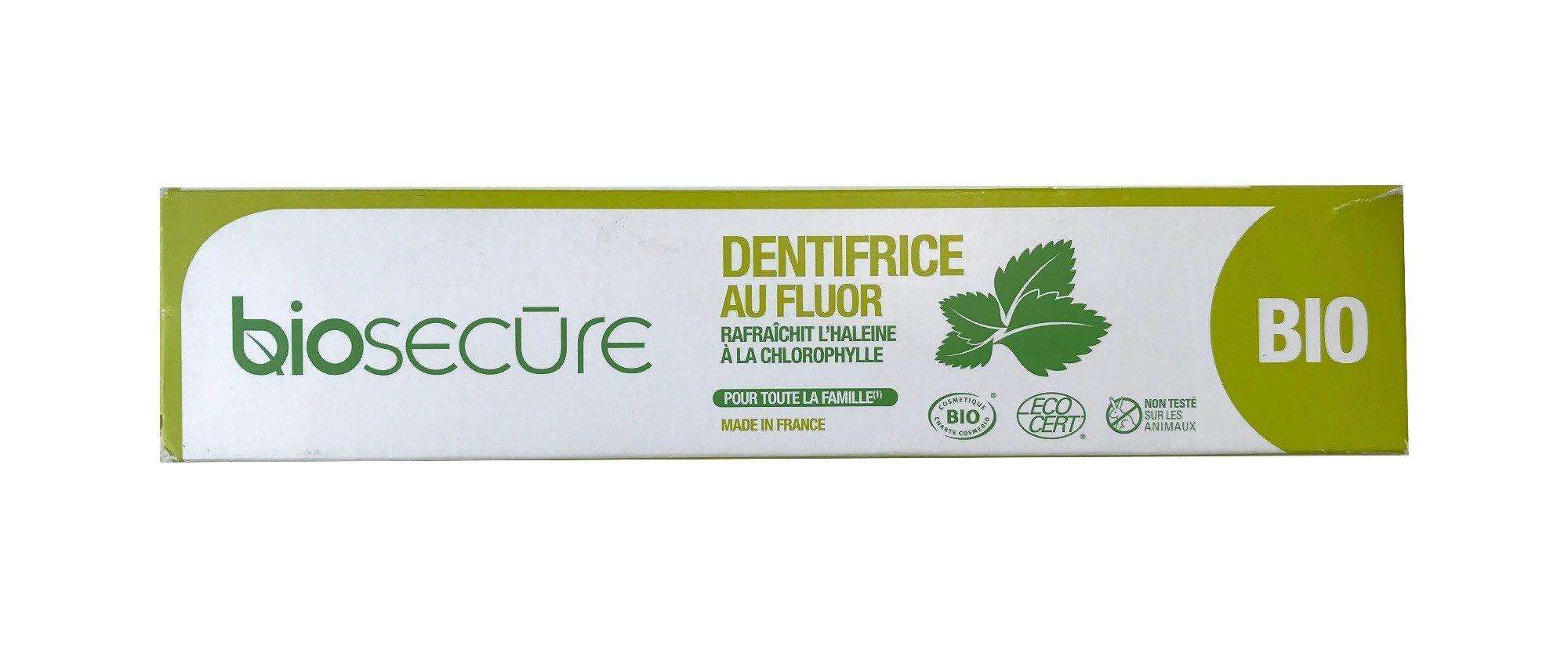 Biosecure Dentifrice au fluor Bio - Produit - fr
