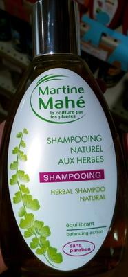 Shampooing naturel aux herbes - Produit