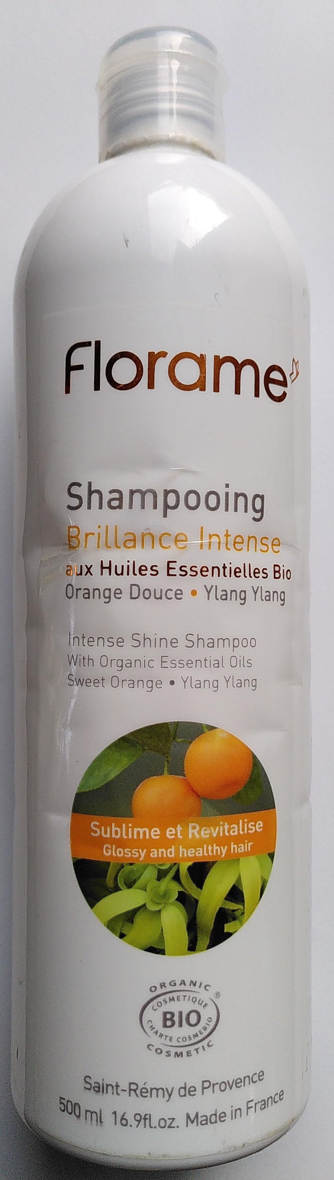 Shampooing Brillance Intense aux huiles essentielles bio - Produit - fr
