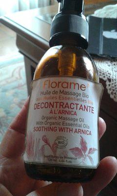 huile de massage décontractante - Produit - fr