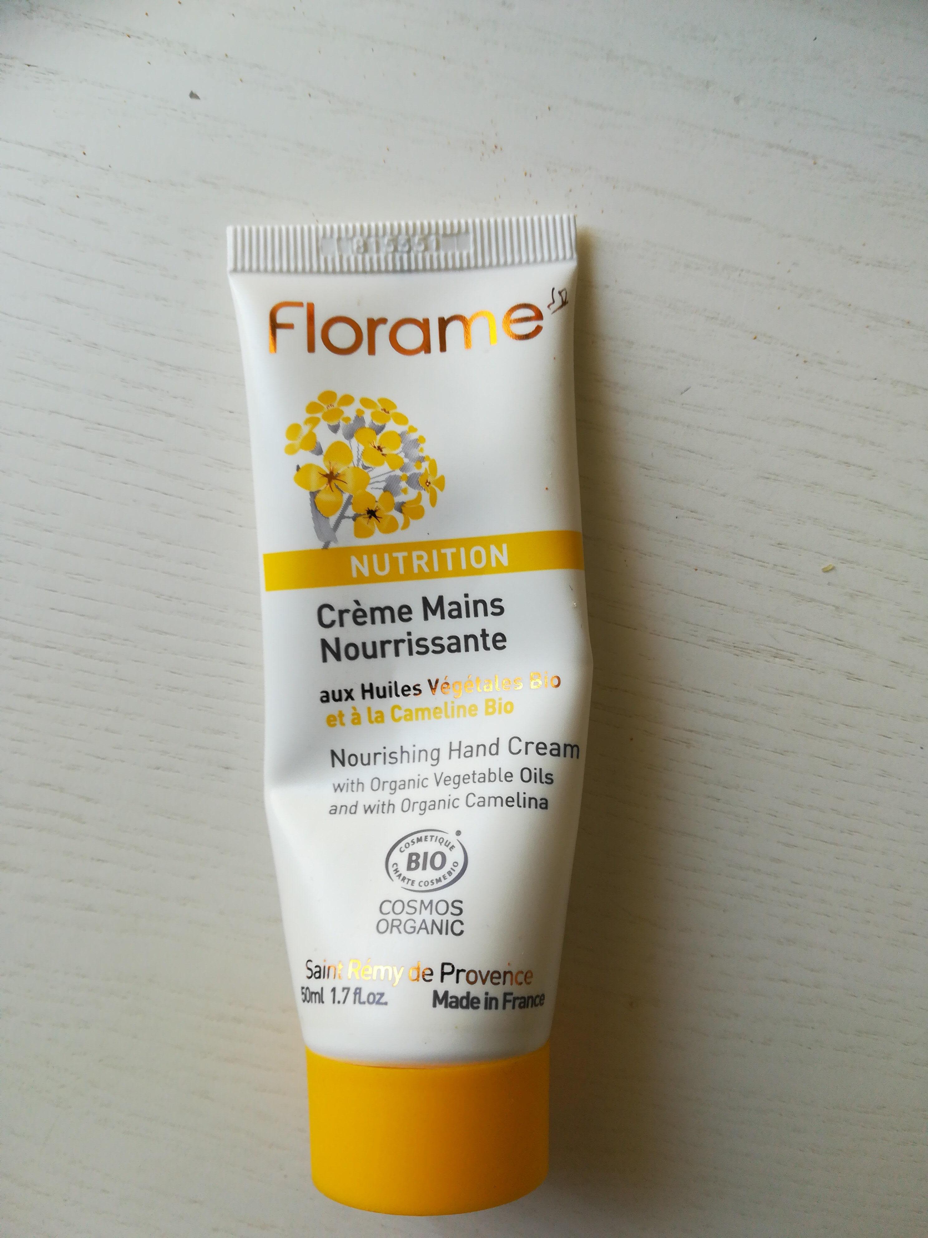 crème mains nourrissante - Product - fr