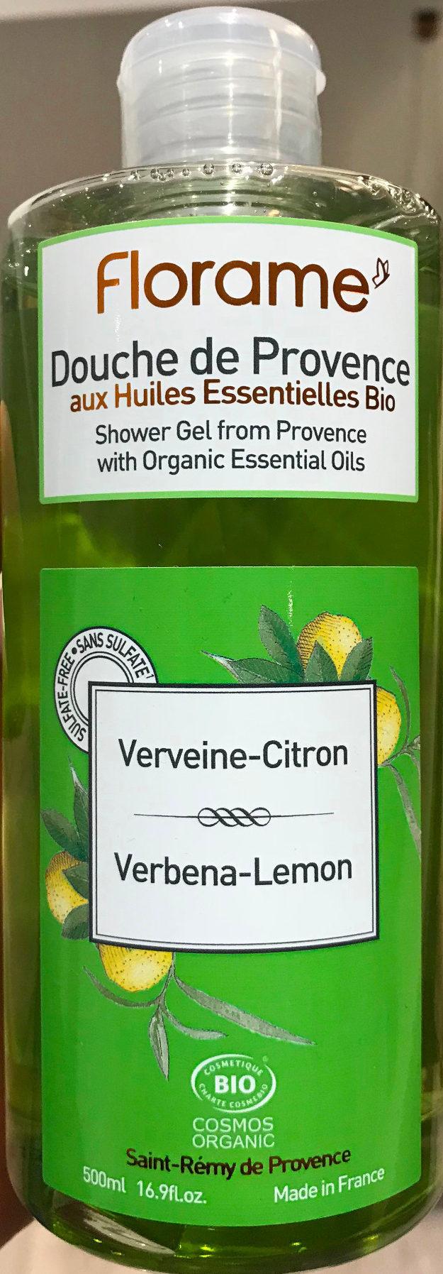 Douche de Provence aux huiles essentielles bio Verveine-Citron - Produit - fr