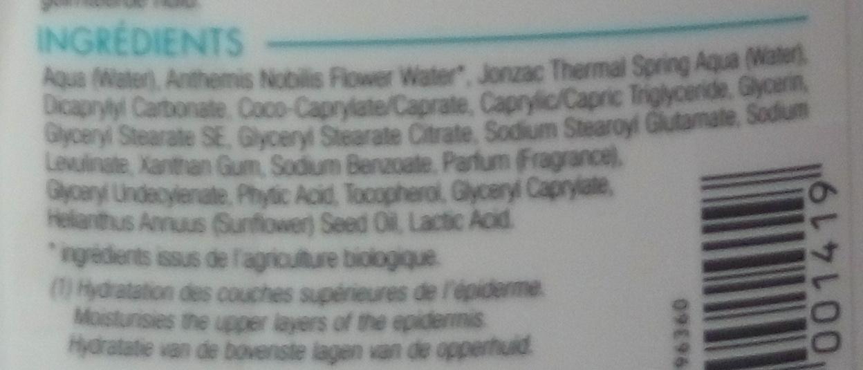 REhydrate Lait corps réhydratant - Ingrédients - fr
