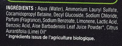 Douche & Bain parfum Cola - Ingrédients
