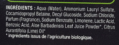 Douche & Bain parfum Cola - Ingredients - fr