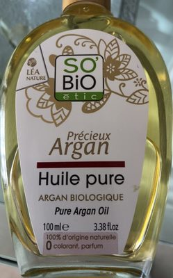 Huile pure d'argan bio, visage, corps et cheveux. 100% d'orgine naturelle O paraben silicone, parafine. - Produit