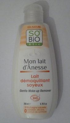 Lait démaquillant soyeux - Mon lait d'Ânesse - So'Bio étic - Product