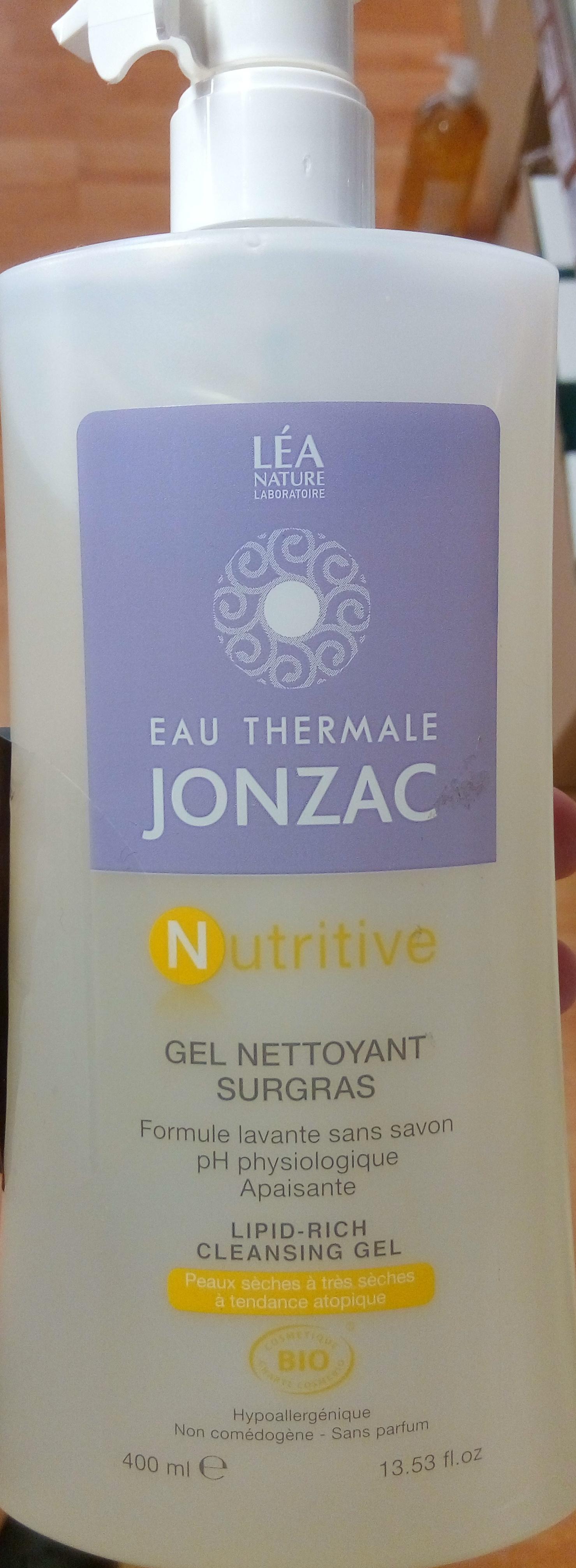 Nutritive Gel nettoyant surgras - Product - fr