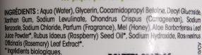 Kids Framboise - Ingredients