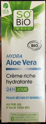 Hydra Aloe Vera Crème riche hydratante - Product