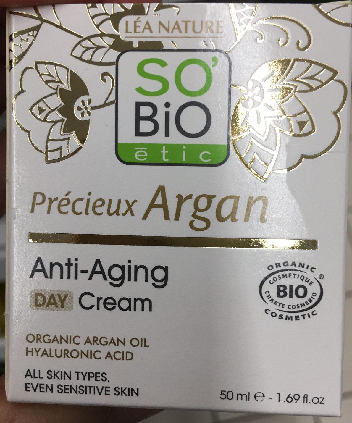 Crème Visage Anti-âge à L'argan Bio - Produit