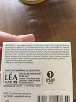 Crème Visage Anti-âge à L'argan Bio - Ingrédients