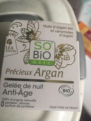 Gelée De Nuit Anti-âge à L'argan Bio - Product - fr
