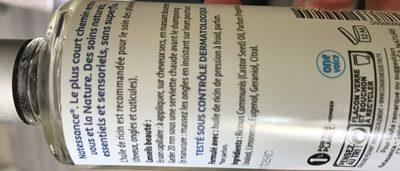 Natessance Huile De Ricin Fortifiante Et Régénérante 100ML - Ingredients - fr
