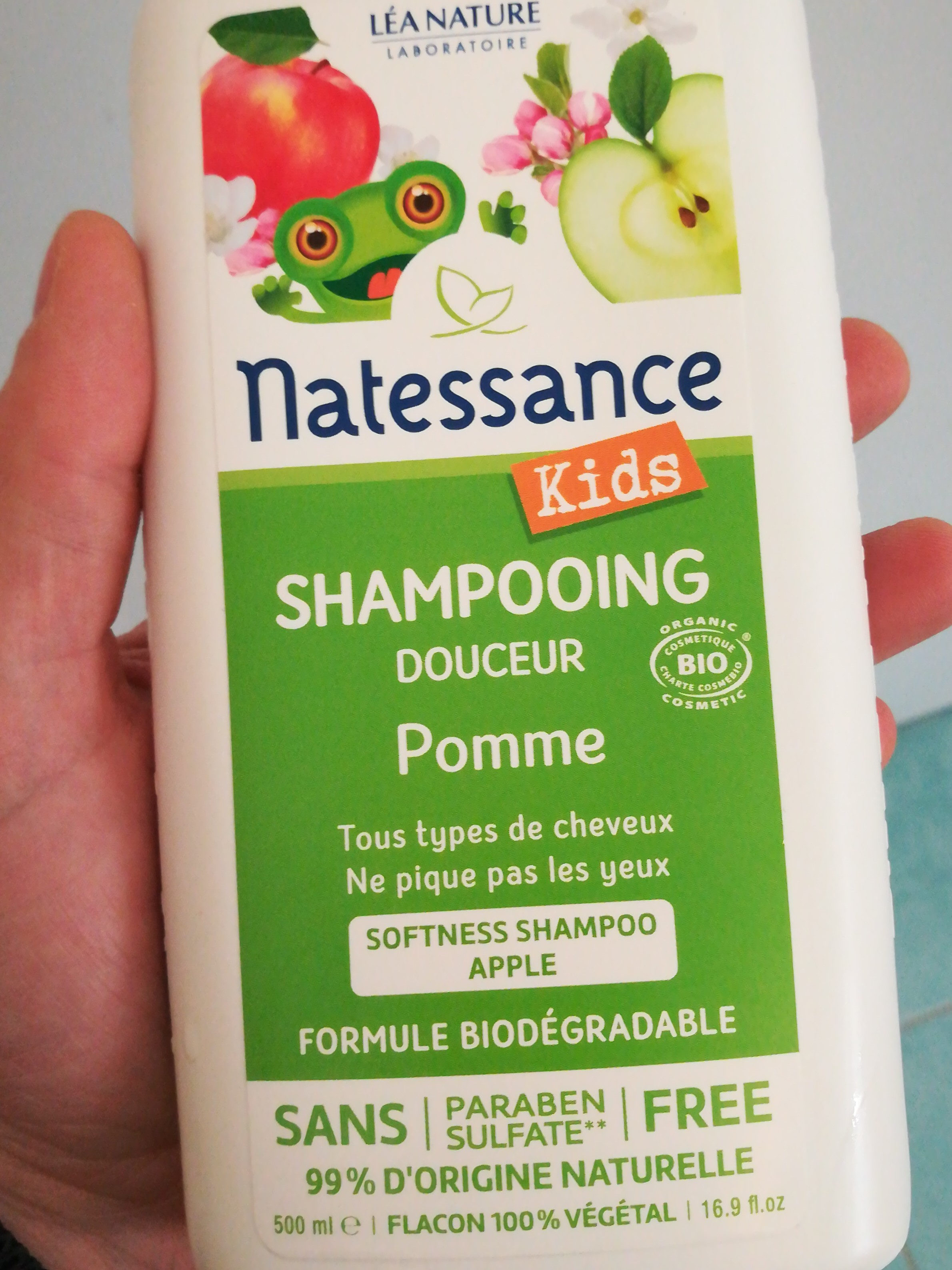 natessance kids shampooing douceur - Product - fr