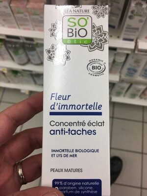 Concentré éclat Anti-tâche Fleur D'immortelle - Produit
