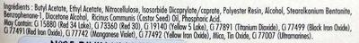 Vernis à ongles soin et couleur à l'huile de ricin bio - 05 divin violet - Ingrédients