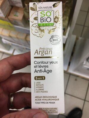 Contour Yeux Et Lèvres Anti-âge Précieux Argan - Product