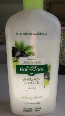 Shampooing huile Argan & olive - Produit