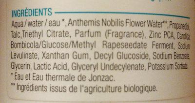 Déo eau thermale Jonzac - Ingredients - fr