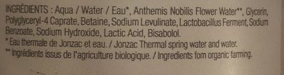 Eau Micellaire Apaisante - 500 ML - Eau Thermale De Jonzac - Ingredients - fr