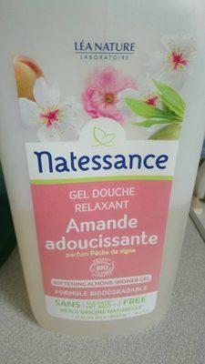 NATESSANCE GEL DOUCHE AMANDE PECHE DE VIGNE1L - Produit
