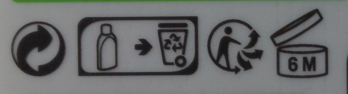 Douche crème lait d'ânesse - Recycling instructions and/or packaging information - fr