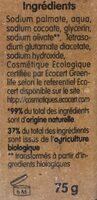 Savon détachant à l'huile d'olive bio - Ingredients - fr