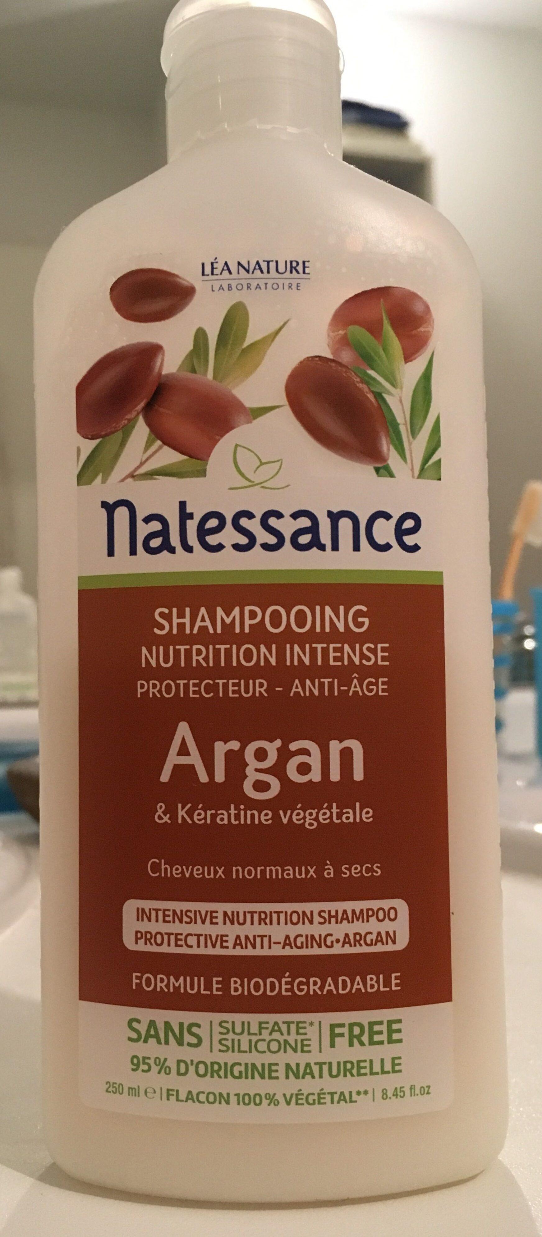 Shampooing nutrition intense argan & kératine végétale - Product - fr