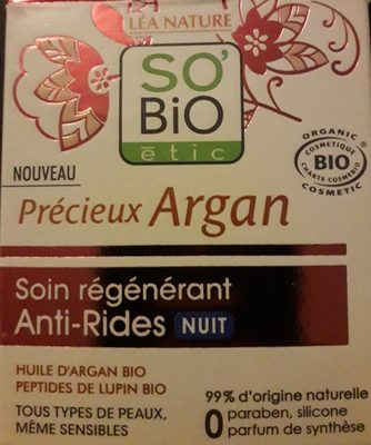 Soin regenerant  anti- rides nuit - Produit