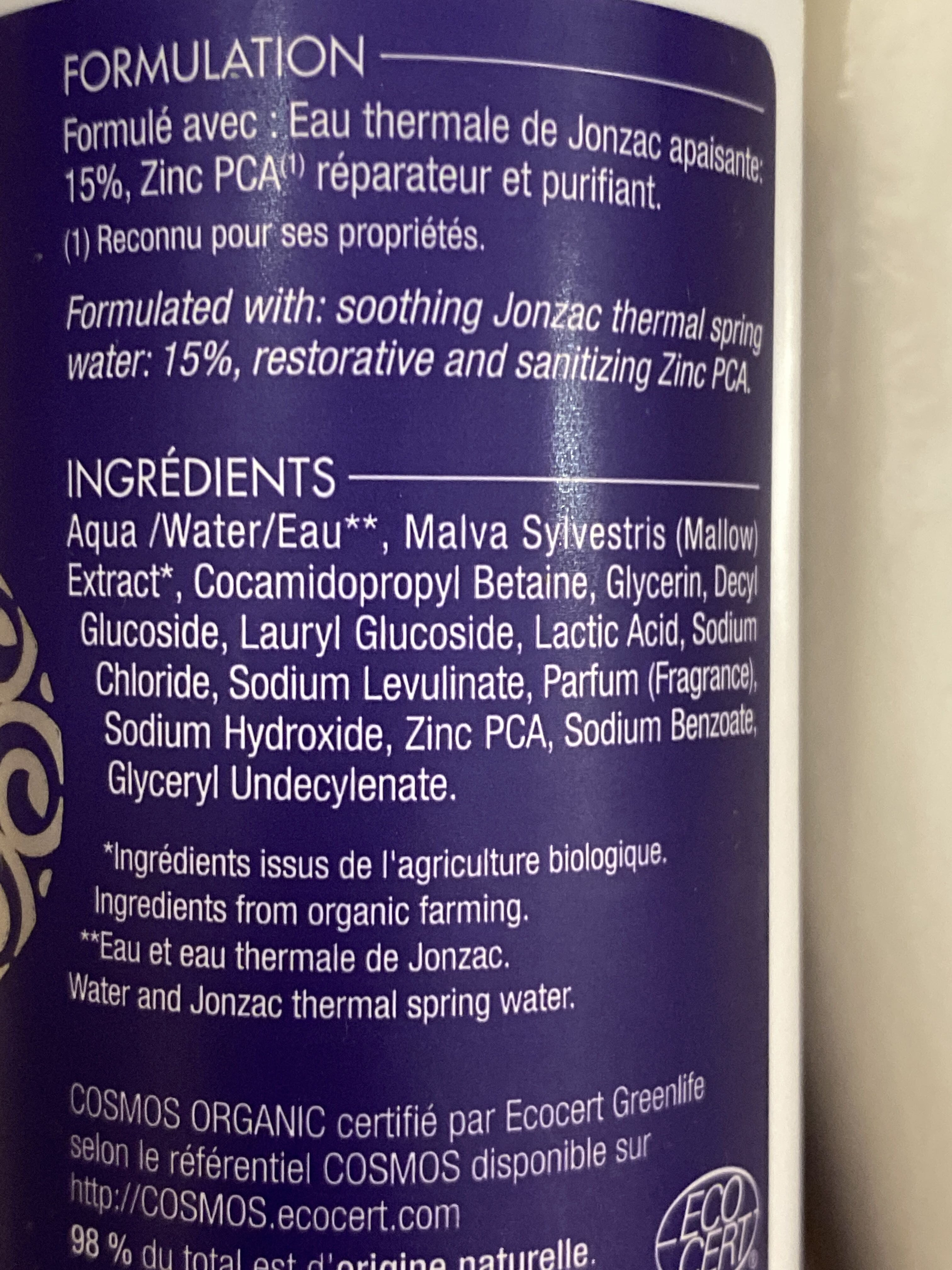 Mousse à raser fraîcheur - Product - fr