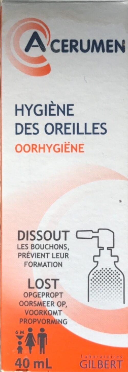 A CÉRUMEN - Hygiène des oreilles - Product - fr
