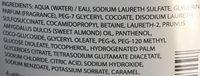 Neutraderm Gel Douche Surgras - Ingredients - fr