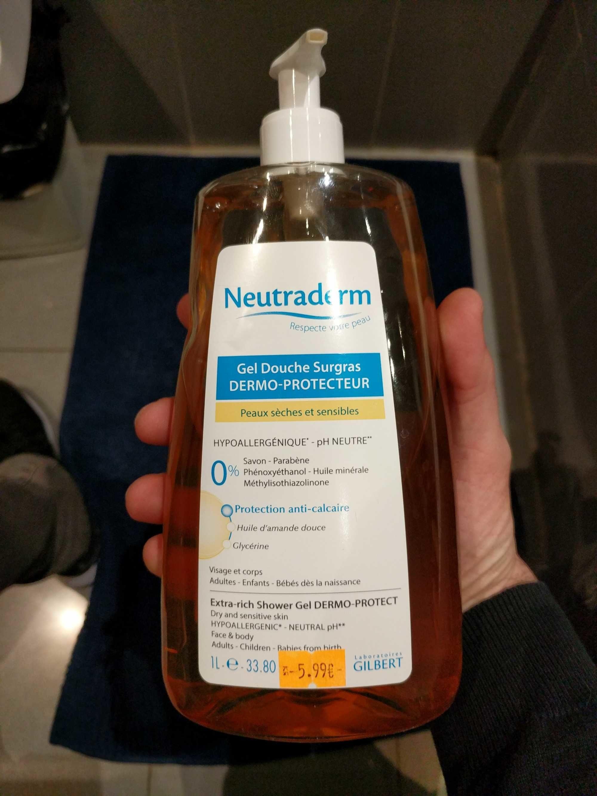 Neutraderm Gel Douche Surgras Dermo-protecteur. FL - Product
