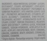 Premières vendanges - Ingredients - fr