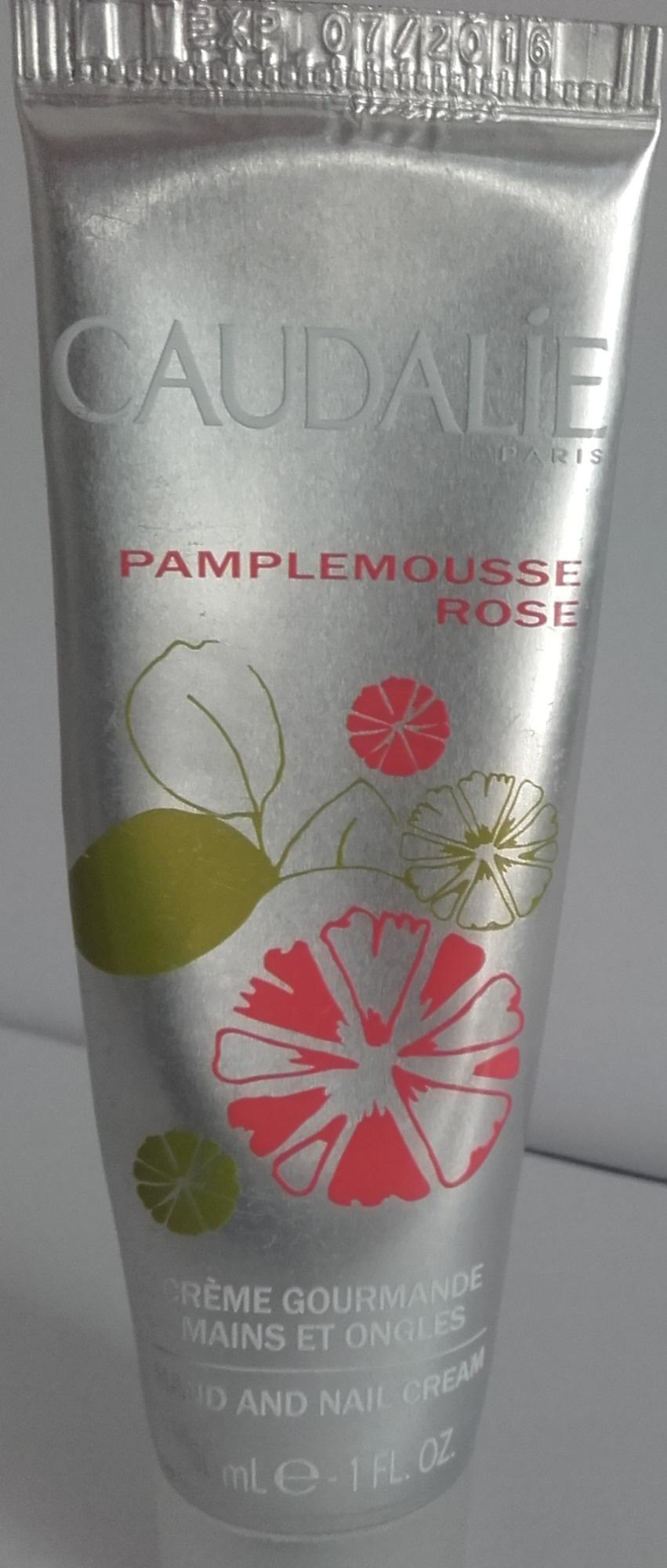 Crème gourmande mains et ongles Pamplemousse rose - Product - fr