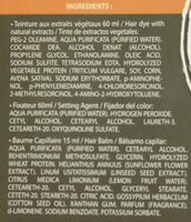 color & soin 6 G blond foncé doré - Ingredients