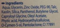 Lutsine Eryplast Pate à L'eau Soin Des Fesses 75G - Ingredients - fr
