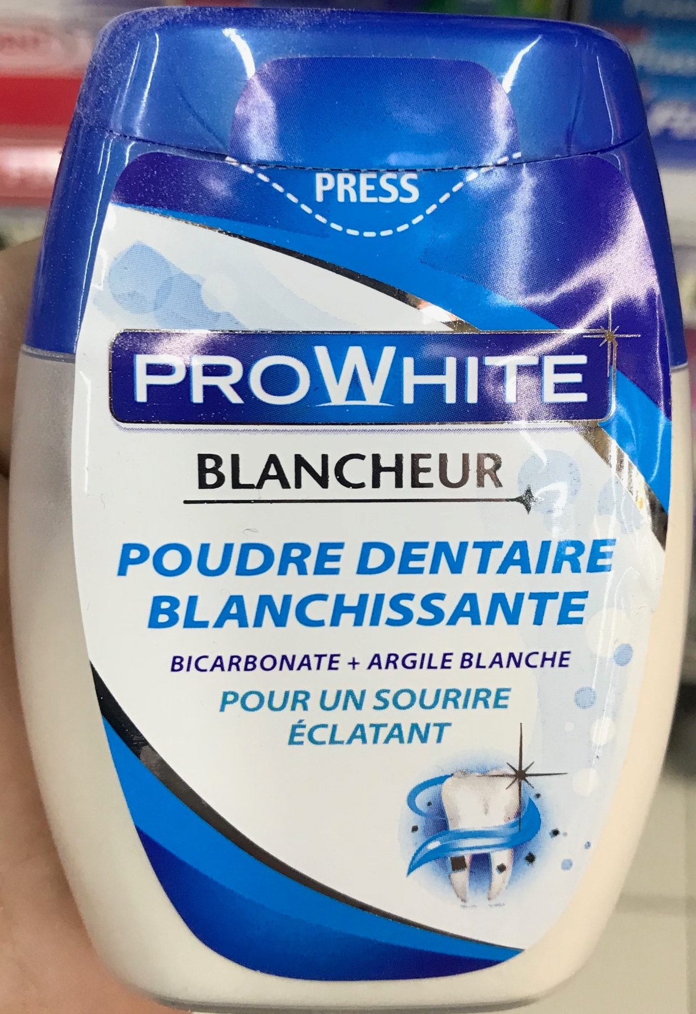 Poudre dentaire blanchissante - Product