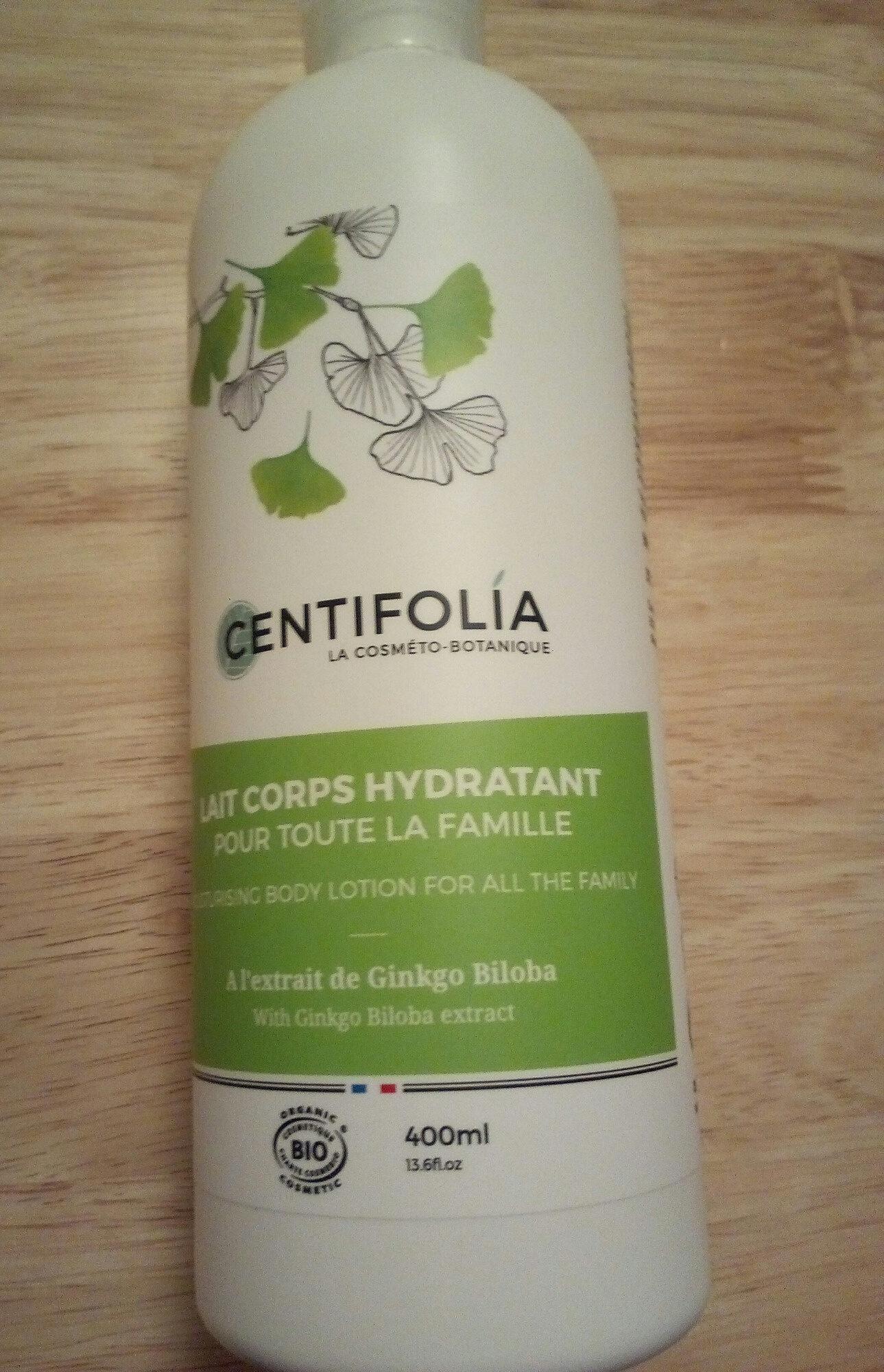 Lait Corps Hydratant Pour Toute La Famille Bio Ginkgo Biloba - - Centifolia - Produit - fr
