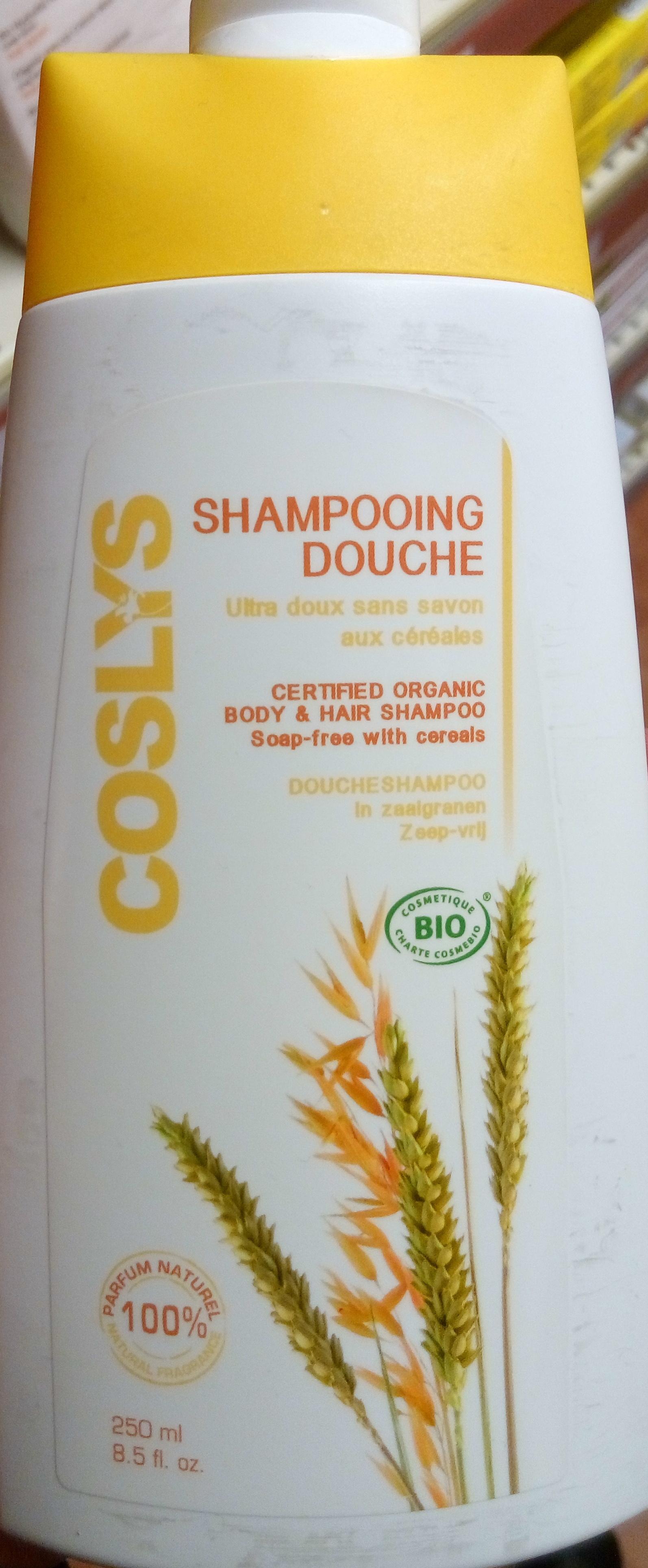 Shampooing douche ultra doux sans savon aux céréales - Produit - fr