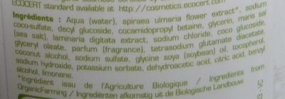 Shampooing douche ulta doux sans savon aux algues - Ingredients - fr