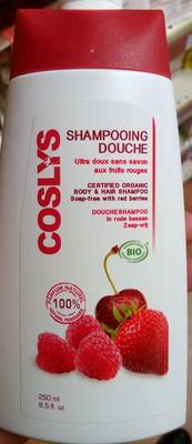 Shampooing douche ultra doux sans savon aux fruits rouges - Product - fr