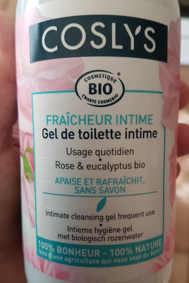 gel de toilette intime - Product - fr