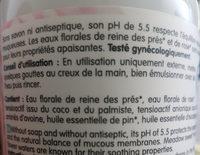 gel de toilette intime - Ingredients