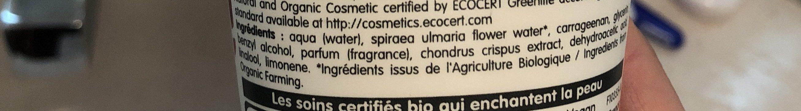 Gel Coiffant - Ingredients - fr