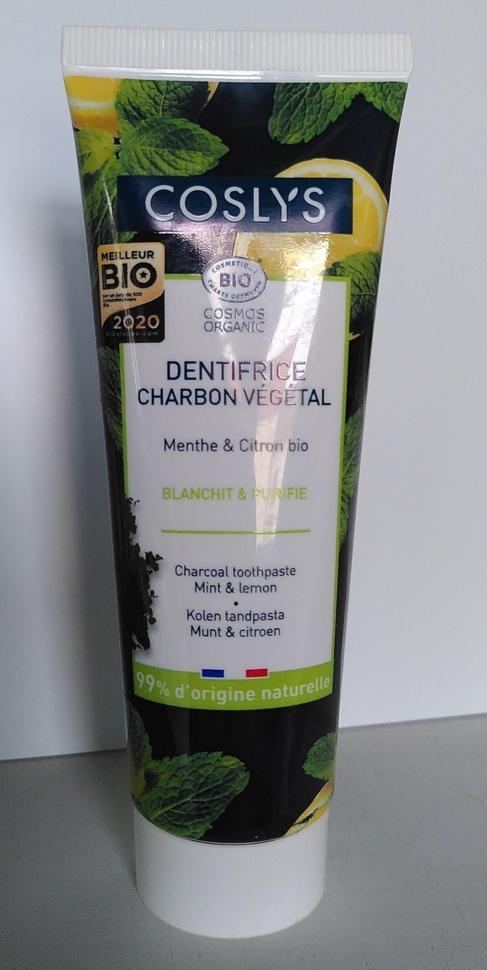 Dentifrice charbon végétal - Produit - fr