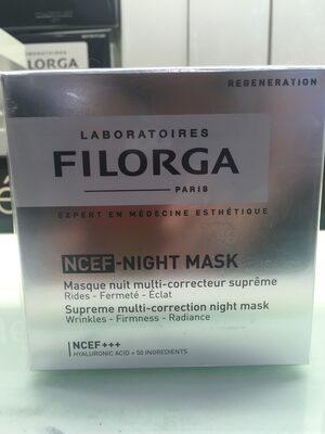 NCEF - NIGHT MASK - Product